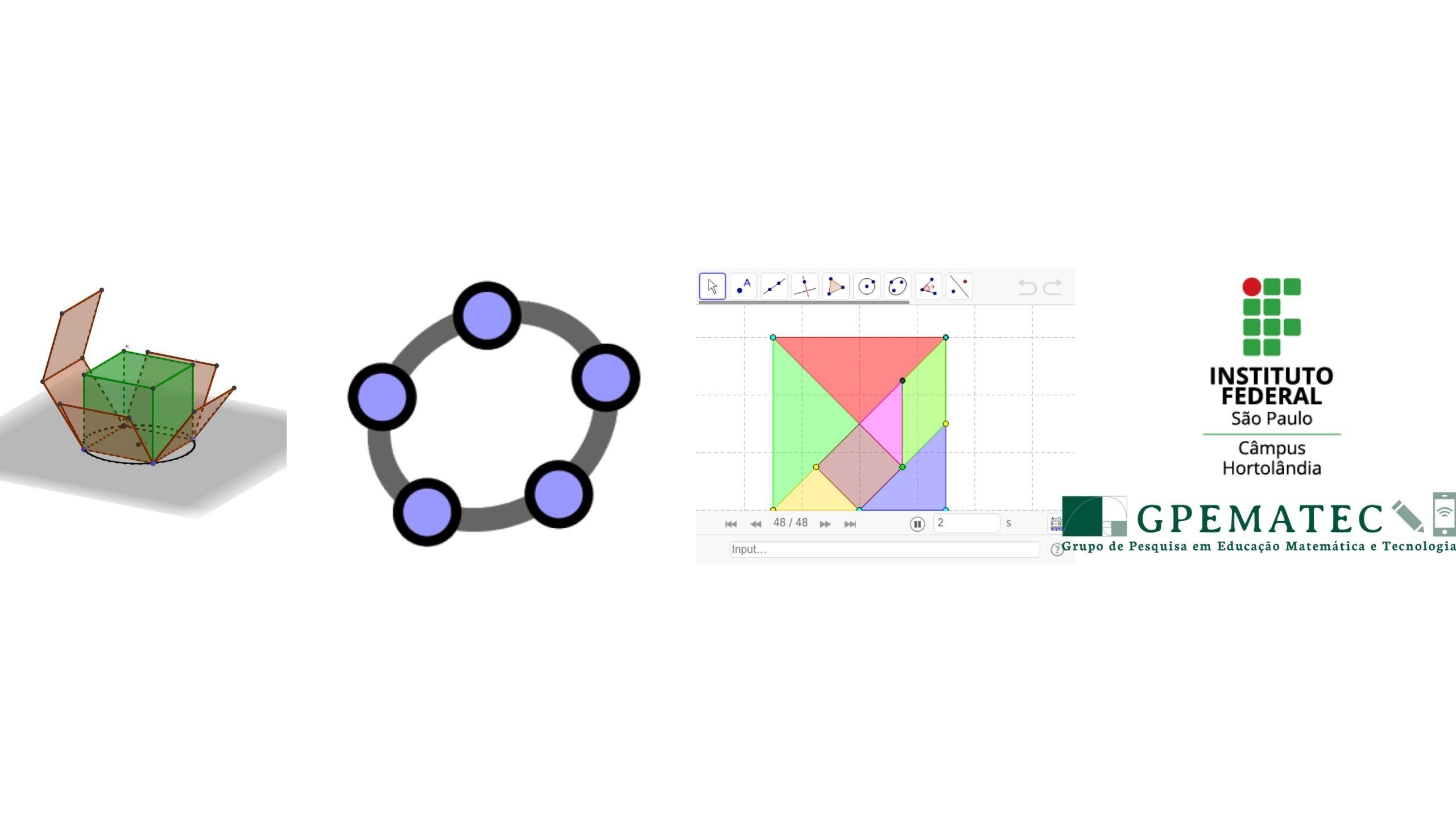 Possibilidades de ensino da Matemática com o GeoGebra